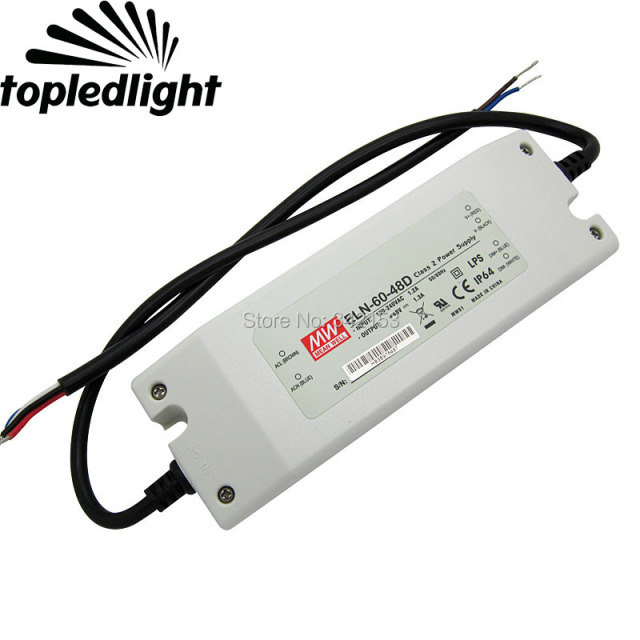 MEAN WELL ELN-60-48D DIMMABLE DRIVER FOR WINDOWS
