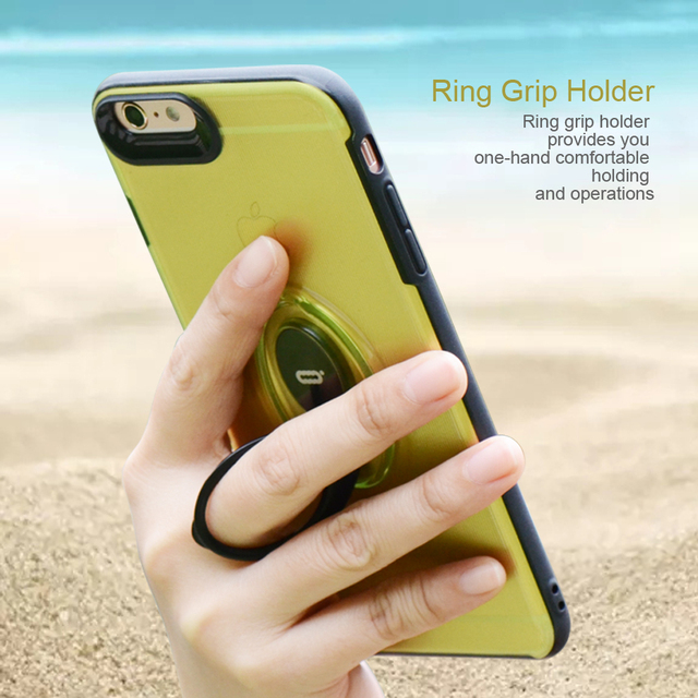 iphone 6plus phone case with ring