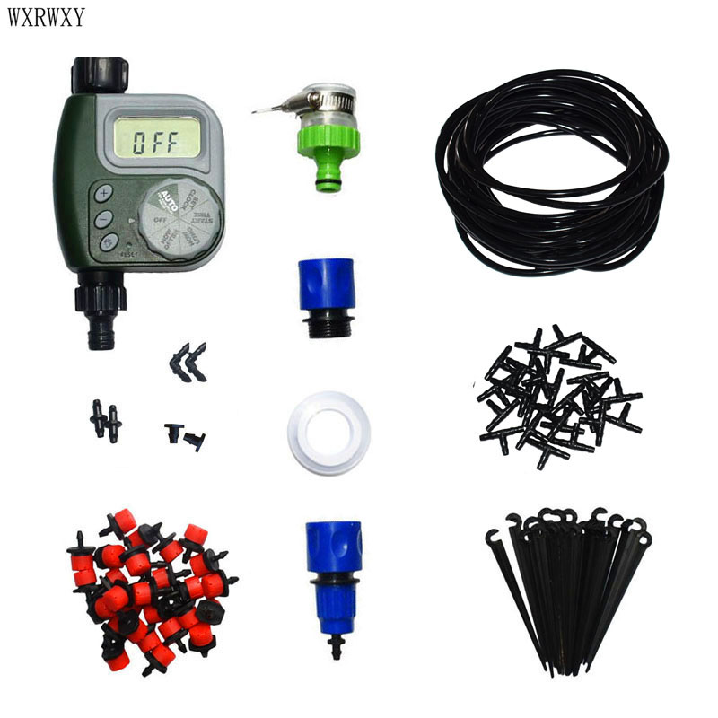 Wxrwxy automatic irrigation system gardening tool kit for Gardening tools kit set