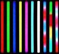 50pcs/lot Led digital tube RGB led tube light 6Pixels 12W led guardrail tube 8pixel for Building decoration+power adapter+contro