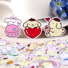 hot deal buy 40pcs cartoon animal diary notebook planner stickers cute cartoon decorative toy style sticker scrapbooking for laptop children