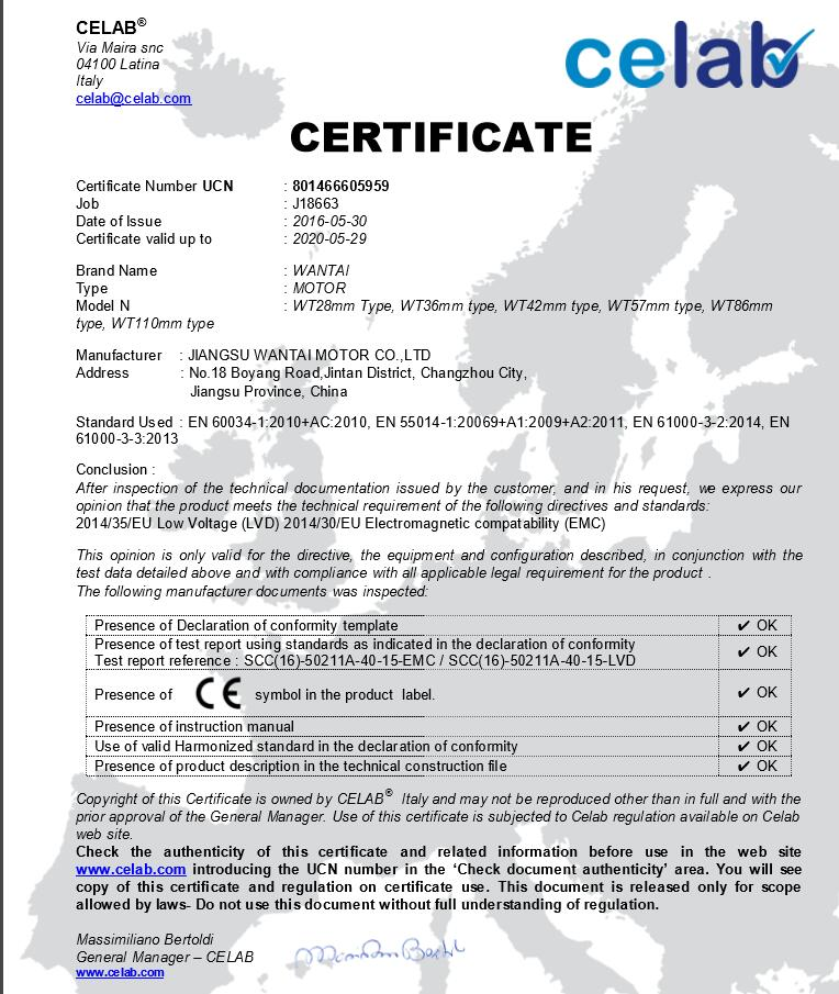 Factory Direct! 2Axis 3D CNC Wantai Nema 17 Brushless DC Motor 4000RPM, 52VDC,26W,3phs 42BLF02& Driver BLDC-8015A, 80VDC,5000RPM