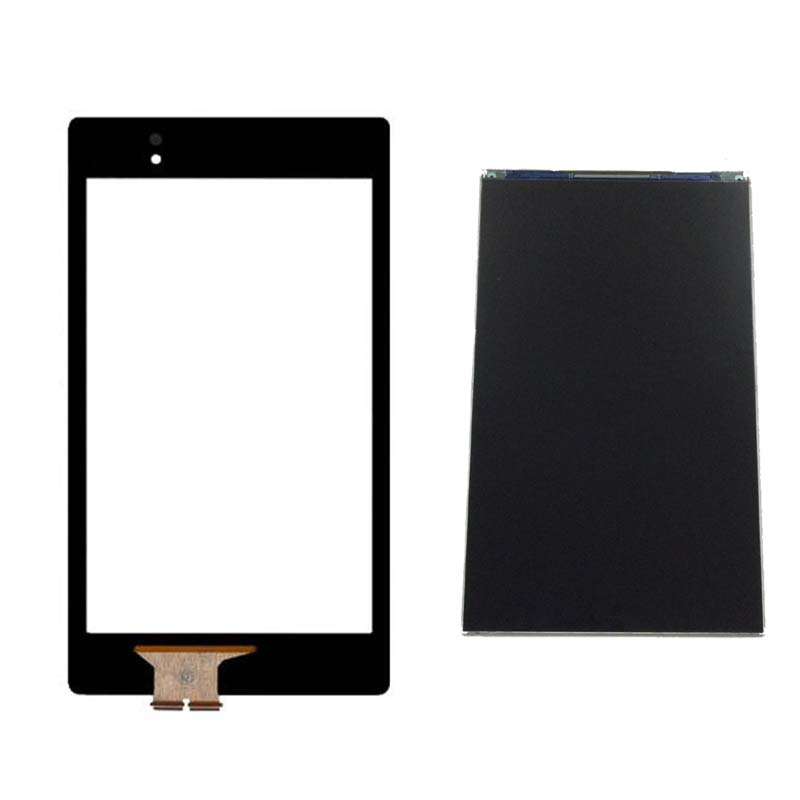 For ASUS Google Nexus 7 2nd ME570 ME571 ME572 Gen 2013 Touch Screen Digitizer Sensor Glass + LCD Display Panel Monitor new original lcd touch screen digitizer with frame for 2013 asus google nexus7 fhd 2nd gen k008 me571 lte 3g free shipping
