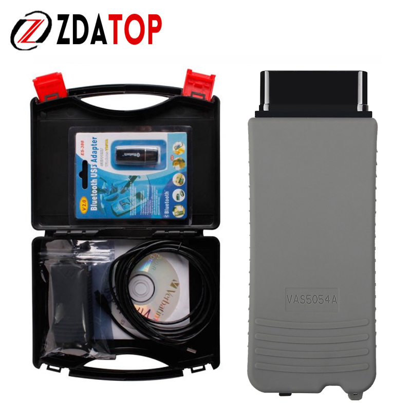 Top rated VAS5054A OKI with Bluetooth VAS5054A ODIS V3.0.3 Full Chip VAS 5054A With OKI for VW/AUDI/SKODA/SEAT On Sale VAS5054