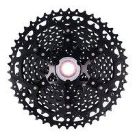 ZTTO 11 Speed Cassette 11 46T Compatible Road Bike Sram System High Tensile Steel Sprockets Folding Black/Silver Gear