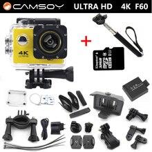 Action camera F60 4K 2.7K 1080P  Allwinner V3  go pro style sport WiFi 2.0″ 170D Helmet Cam underwater go waterproof pro camera