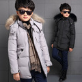 Children's Winter Jackets for Boys Snowsuit Kids Windbreaker Parka Big Boys Warm Thick Coat Zip Teenager Baby Outwear