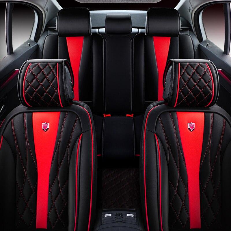 6D Sport Car Seat Cover Universal Cushion For Volkswagen Beetle CC Eos Golf Jetta Passat Tiguan Touareg sharan
