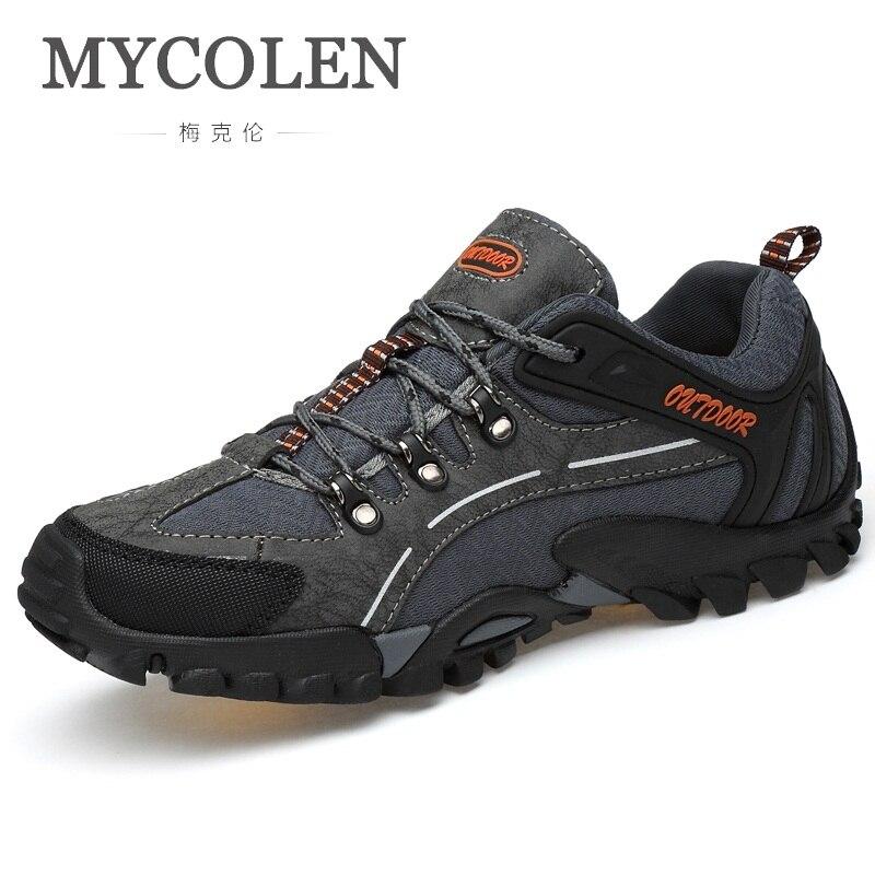 MYCOLEN новые мужские кроссовки мужские роскошные брендовые модные туфли мужские туфли ручной работы удобные мужские повседневные туфли Schuhe