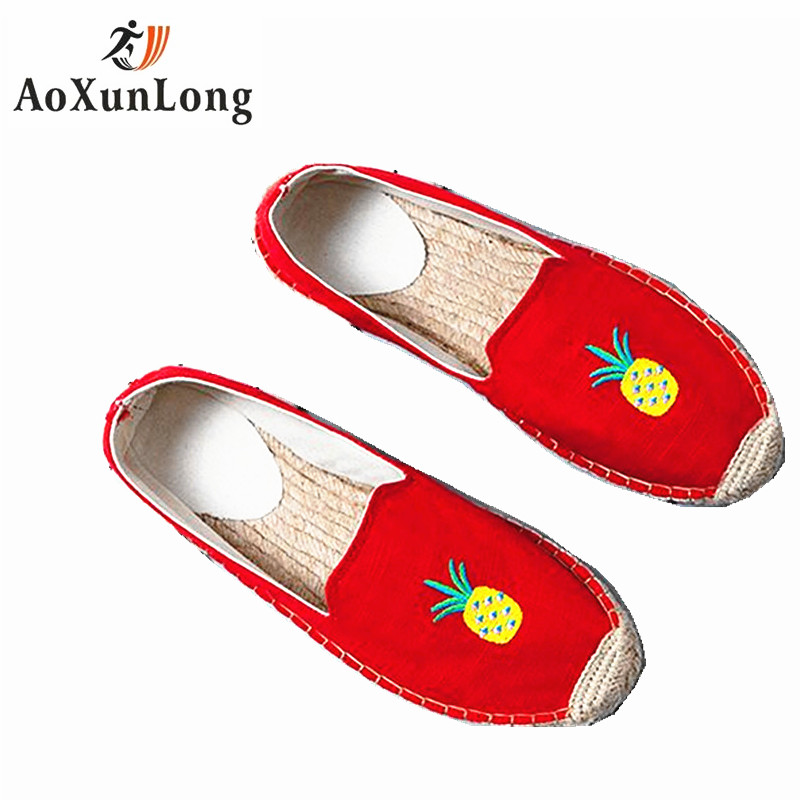 Summer Autumn Women Shoes Flat Low Casual Shoes Breathable Flax Hemp Canvas Slip-on Canvas Stitching Shoes Soft Natural Cotton baijiami 2017 new children solid breathable slip on pu casual shoes boys and girls spring summer autumn flat bottom shoes