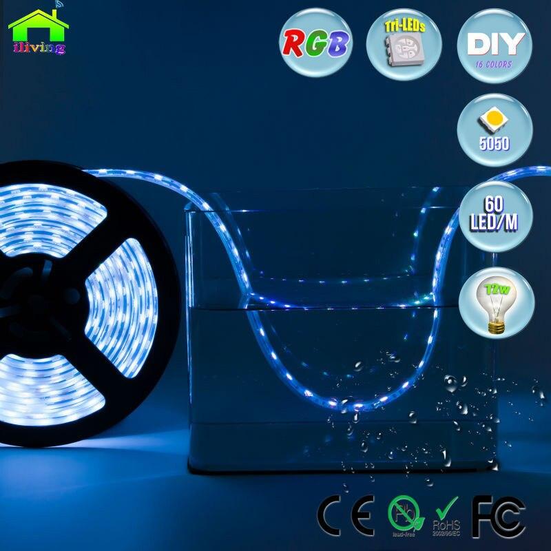 Tiras de Led aquário subaquática ip68 À prova Consumo de Energia (w/m) : Switch Power