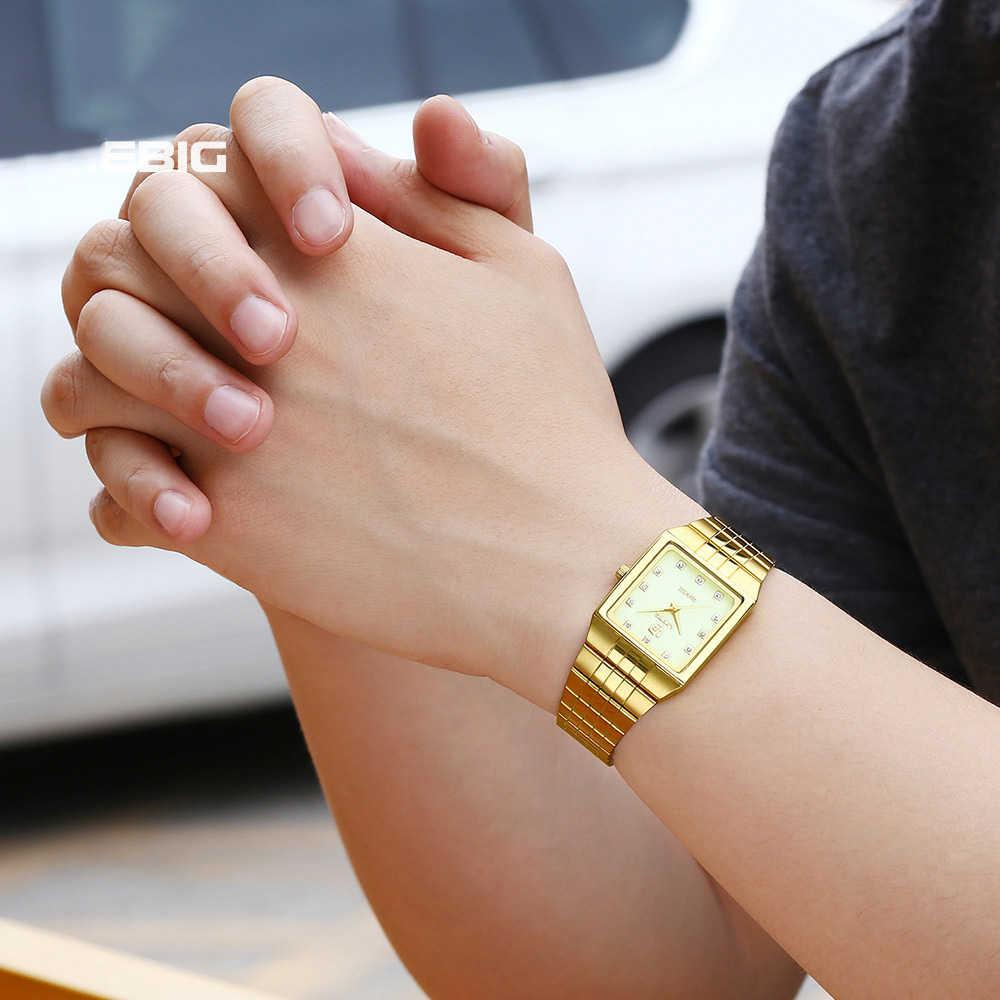 2020 topo da marca de luxo de ouro das mulheres dos homens relógios de quartzo feminino masculino relógio de pulso relogio masculino feminino 8808