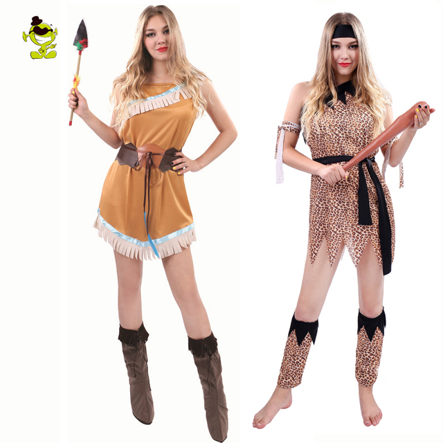 Womenu0027s Primitive Costume Cosplay the Cavemen Fred Flintstone Wildman Caveman Halloween Vaiana Stage Performance Costumes  sc 1 st  AliExpress.com & Womenu0027s Primitive Costume Cosplay the Cavemen Fred Flintstone ...