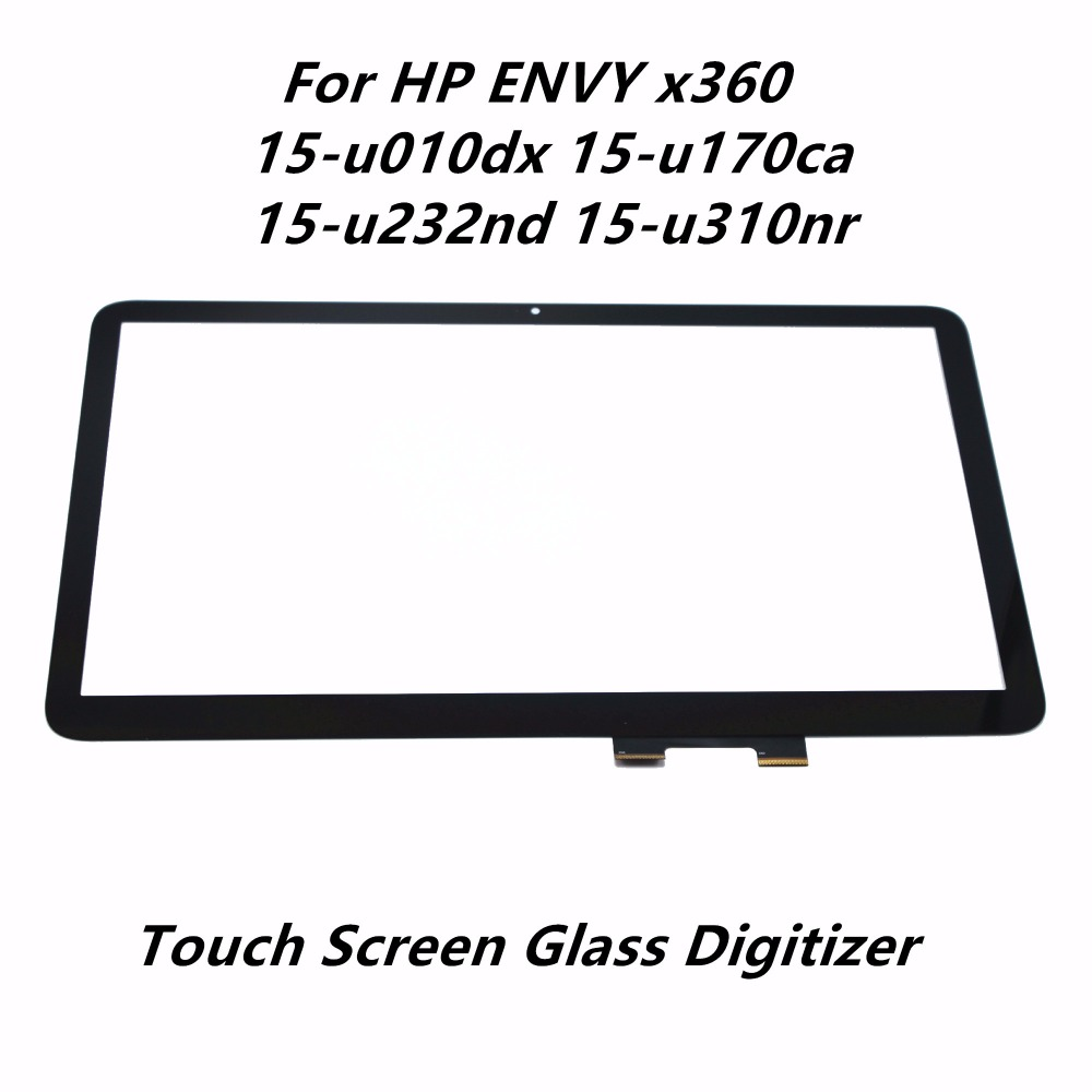 все цены на 15.6'' Laptop Touch Screen Digitizer Front Glass Lens Panel Replacement For HP ENVY x360 15-u010dx 15-u170ca 15-u232nd 15-u310nr онлайн