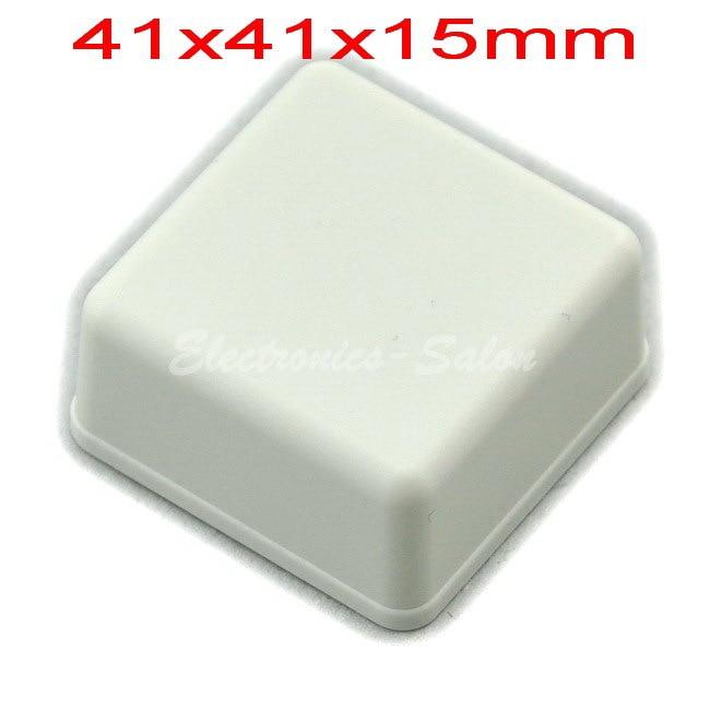 Small Desk-top Plastic Enclosure Box Case,White, 41x41x15mm, HIGH QUALITY.