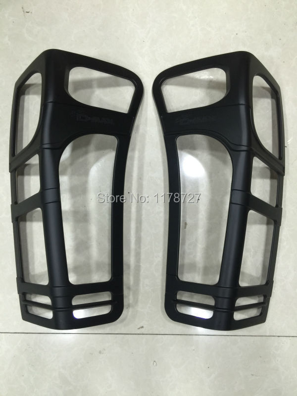 Chromium Styling Free Shiping 2012-2015 D-max Black Colour Tail Lamp Cover Rear Light Cover Tail Light Cover Dmax Accessory Accessories