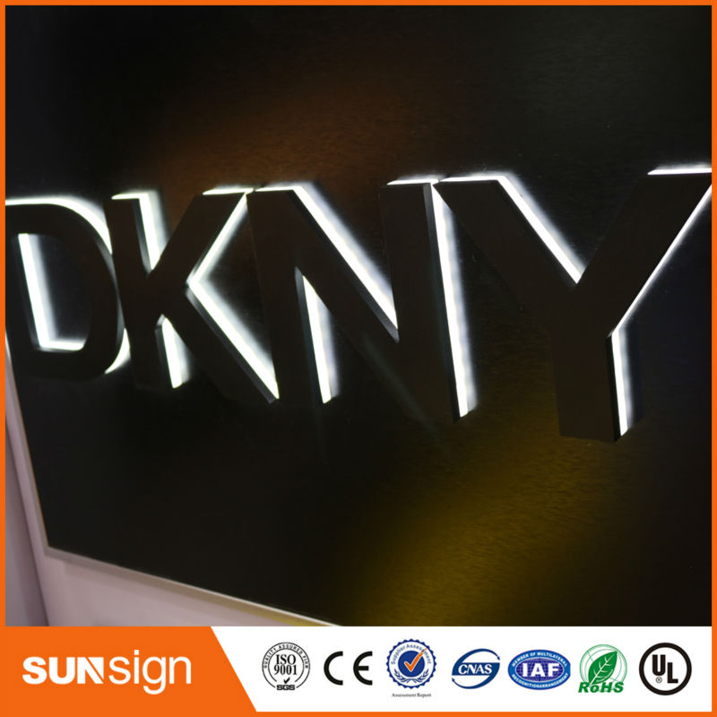 Custom Outdoor Advertising LED Backlit Signs