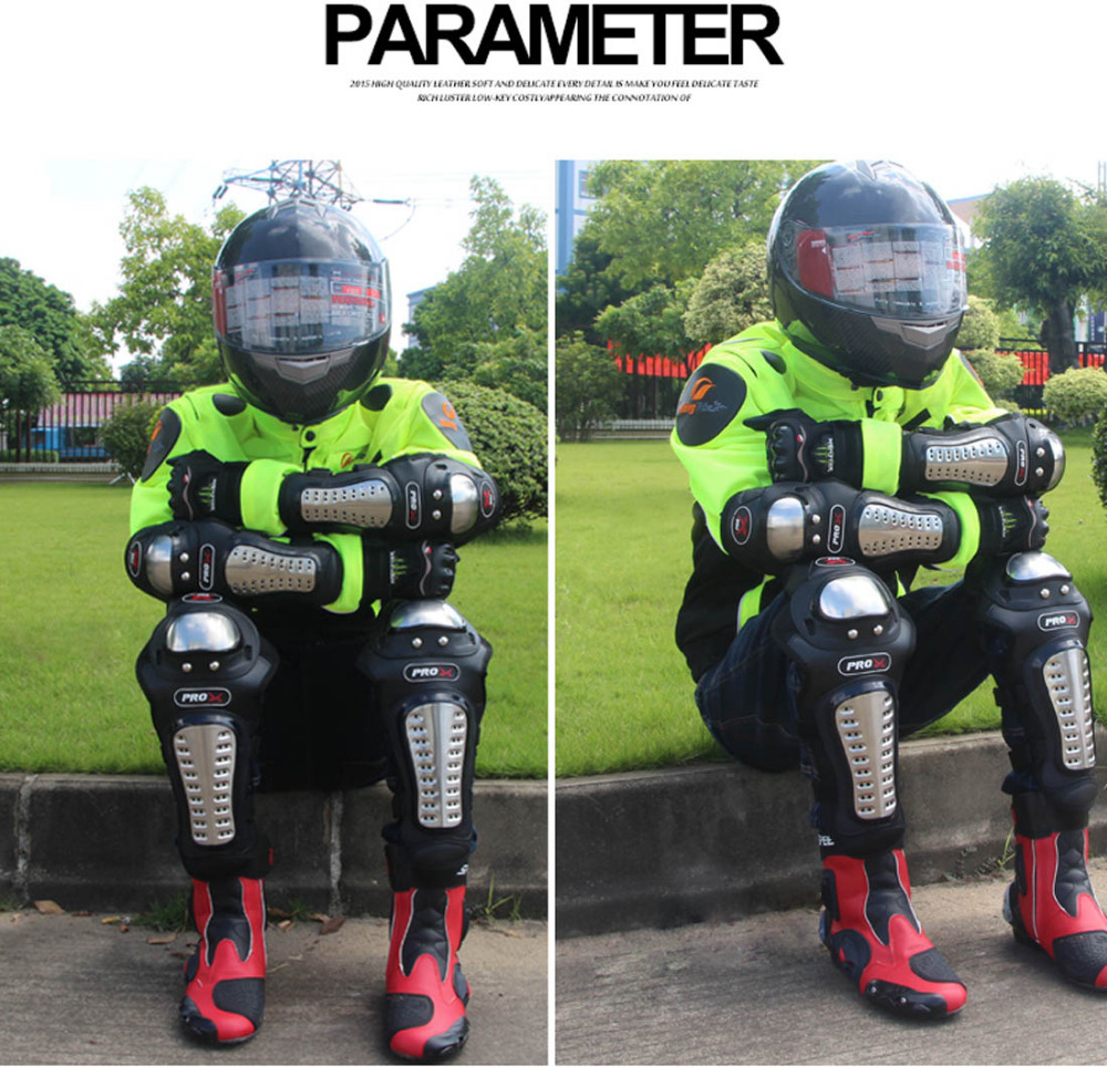 Pro-biker motorcykel albue & knæ pads motorcykel racer motocross - Motorcykel tilbehør og dele - Foto 6