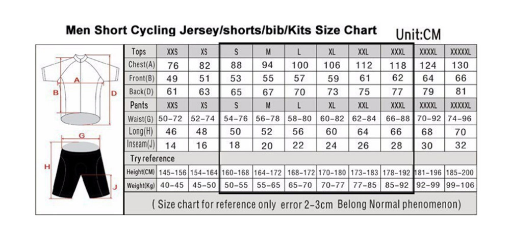 cycling jersey ropa