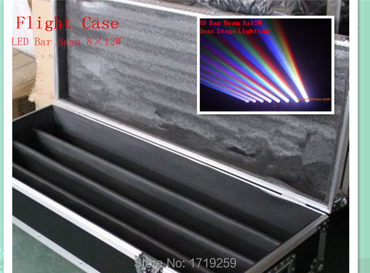 Flight Case Perfect For  LED bar 8x12W RGBW    can put 4piece LED Bar