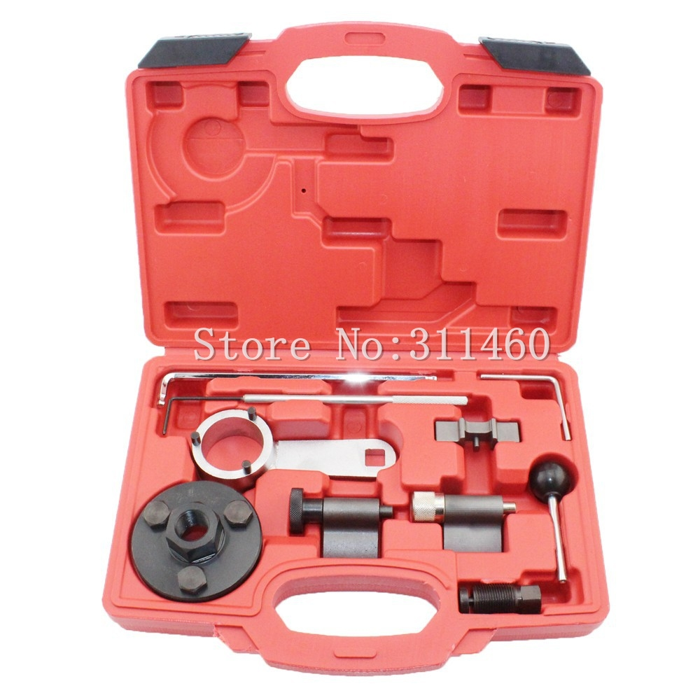 Hot selling Professional Engine Timing Tools Set for VW Audi Seat 1.6, 2.0 TDI A3 A4 A5 A6 TT Q3 Q5 wholesale 2 2 2 5 dci engine camshaft timing tool crankshaft alignment locking set for renault auto repair tools 2pcs lot