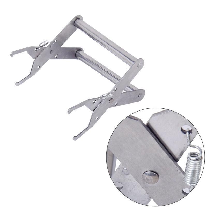 Beekeeping Holder Lifter Capture Grip Stainless Steel Bee Hive Frame Beehive Tool Equipment 13*13 cm комплектующие для кормушек beekeeping 4 equipment121mm 91 158