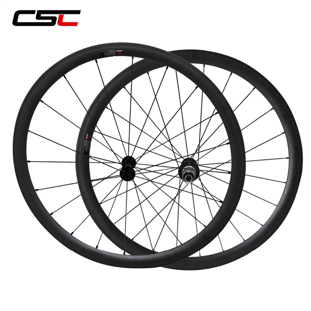 700C Carbon Aero Wheel 38mm 50mm 60mm 88mm Tubular Clincher 25mm Width U Shape Powerway R13 Ceramic Bearing Hub