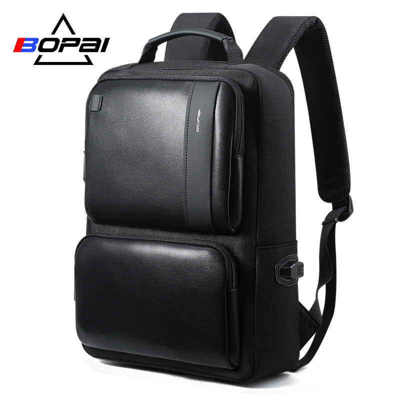 d26a073d5313 BOPAI Laptop Backpack with USB External Charging Port for 15.6 Inch ...