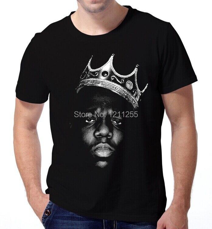 8b40a2baeb43a King Biggie Small The Notorious B.I.G. Big Poppa Hip Hop Music T-Shirt Men  100