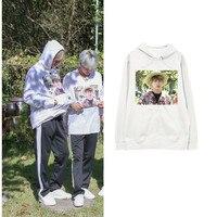 Kpop Home New BTS Bangtan Boys Same Vapp Live JUNG KOOK Brother Complex Printed Fashion Sweatshirt