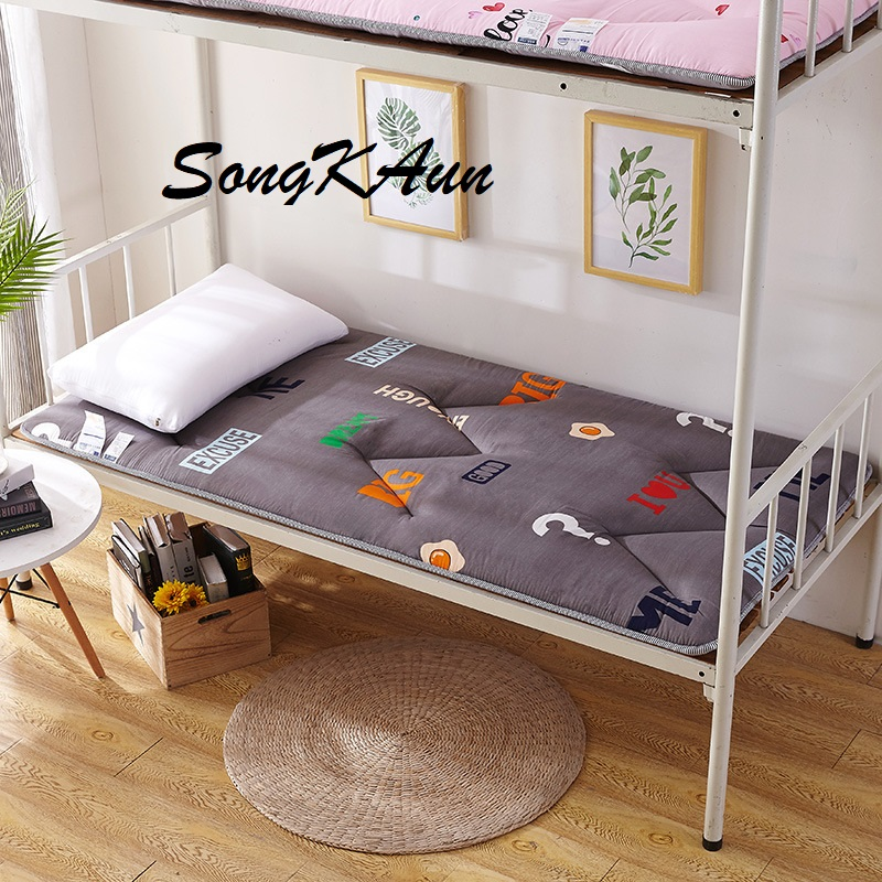 SongKAum New Style  Classic Design Quilting Tatami Bedroom Furniture Student Polished Printing Mattress