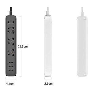 Image 3 - Xiaomi Power Streifen Schnelle Lade 2500W 10A 250V 3/5/6 Port Mit USB Steckdosen Stecker Smart Überlast Power Streifen für Xiaomi Smart D5