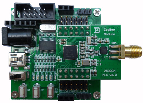 CC2530 Module with USB Baseplate and Power Amplifier DTU Serial Port to ZigBee Wireless Module Over 3000 Meters. пояса rusco пояс для единоборств rusco 280 см белый