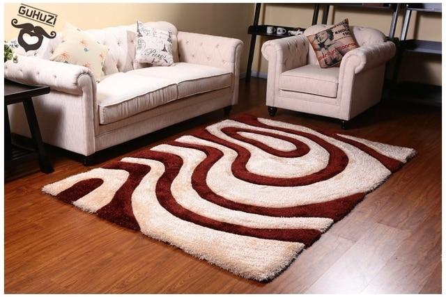 Lusso tappeti super soft tappeti moderni semplici skid resistenza ...