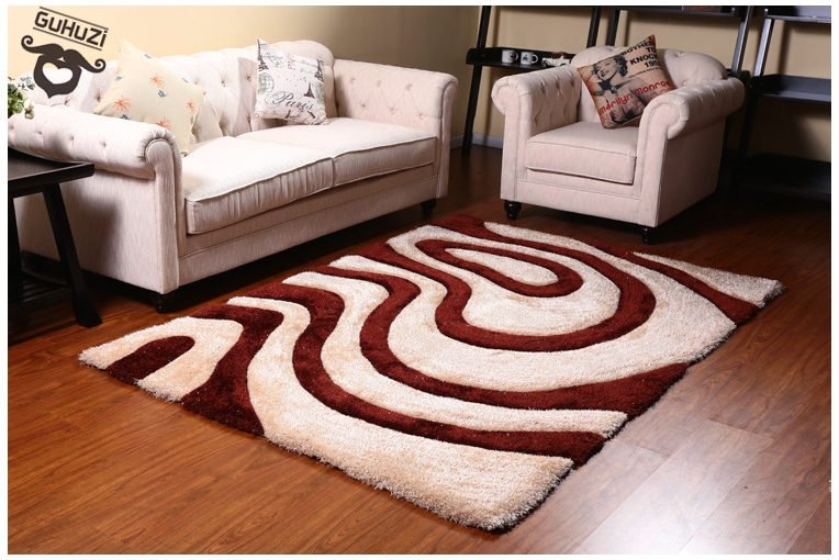Luxury Rugs Super Soft Durable Rugs Modern Simple Skid Resistance Shaggy Carpets For Living Room ...