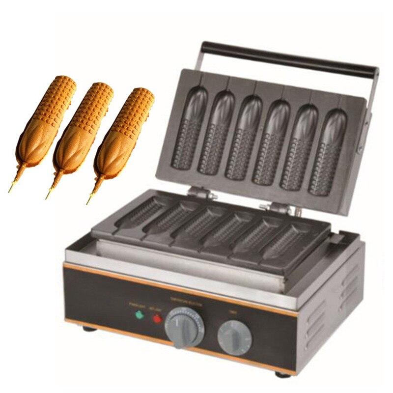 BEIJAMEI electric corn dog waffle commercial hot dog waffle stick maker corn dog making machine price muffin hot dog and corn waffle making machine for sell commercial hot dog waffle maker