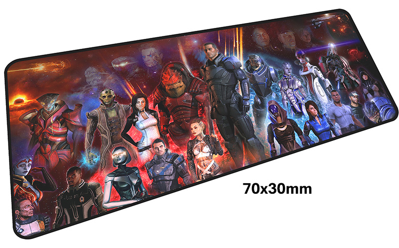 mass effect mousepad gamer 700x300X3MM gaming mouse pad large Aestheticism notebook pc accessories laptop padmouse ergonomic mat