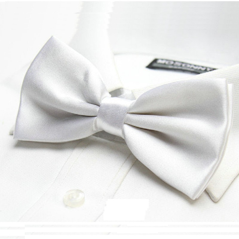 Gravata borboleta sólida camisa de vestido da marca new festa de casamento  gravata borboleta adulto laços acessório gancho fácil f43fe18794d5f