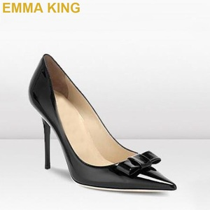 Black Patent Leather Heels Women Pointed Toe High Heels 10CM 12CM Stiletto Pumps Sexy Ladies Office Commuting Party Shoes