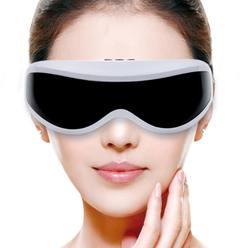 Electric Eye Massager Portable Eye Relax Massage Machine Health Care Vibration Eye Brain Massager Mask Silicone eye Protector