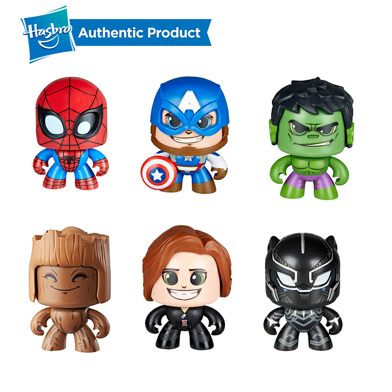 Hasbro Marvel The Avengers Mighty Muggs Captain America Spiderman Hulk Groot 3 Facial Expressions Collectible Figure Toy GiftHasbro Marvel The Avengers Mighty Muggs Captain America Spiderman Hulk Groot 3 Facial Expressions Collectible Figure Toy Gift