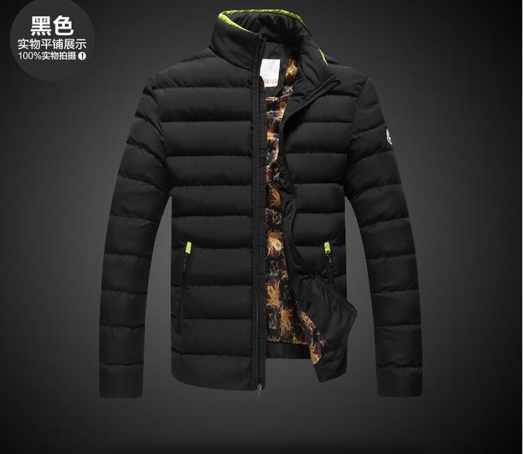 2017 Kış Standı Yaka Aşağı Pamuk Sıcak Ceket Casual Parka Sıcak Sıcak Moda Marka Giyim Ceket Moda Palto Giyim