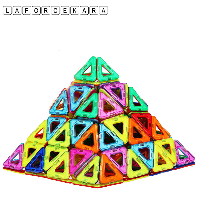 Márka 32 db mini mágneses építőelem játékok játékok oktatási kreatív tégla játékok DIY autó modell mágneses építési blokk