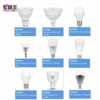 E27 E14 GU10 MR16 FUT103 104 105 011 012 013 014 017 018 019 4 Вт 5 Вт 6 Вт 9 Вт 12 Вт RGB + CCT RGBW Светодиодная лампа двойной белый прожектор