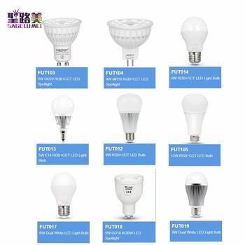 E27 E14 GU10 MR16 FUT103 104 105 011 012 013 014 017 018 019 4W 5W 6W 9W 12W RGB + CCT RGBW LED Glühbirne Dual Weiß Scheinwerfer