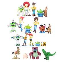 Cosplay Toy Story 3 Sheriff Woody Buzz Lightyear Jesse Hamm Rex Slinky  perro PVC figura de acción modelo muñeca Juguetes 8bb039bde88