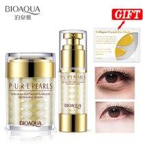 BIOAQUA Pure Pearl Collagen Eye Cream + Hyaluronic Acid Esse