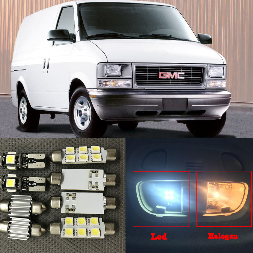 1995 Gmc Vandura G1500 Interior: 14pcs Auto Interior LED Lights Bulb Kit For 1995 2005 GMC