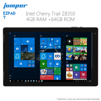 Original Jumper EZpad 7 2 in 1 Tablet PC 10.1 inch Windows 10 Home 64 bit Intel Z8350 Quad Core 4GB RAM 64GB ROM Pad Computer