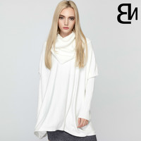 High Lead Suit-dress Autumn And Bat Sweater Knitting Unlined Upper Garment Processing Factory Amazon The Explosion
